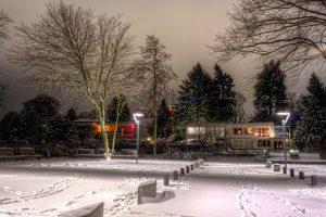Fresh Snow in Berlin, Germany