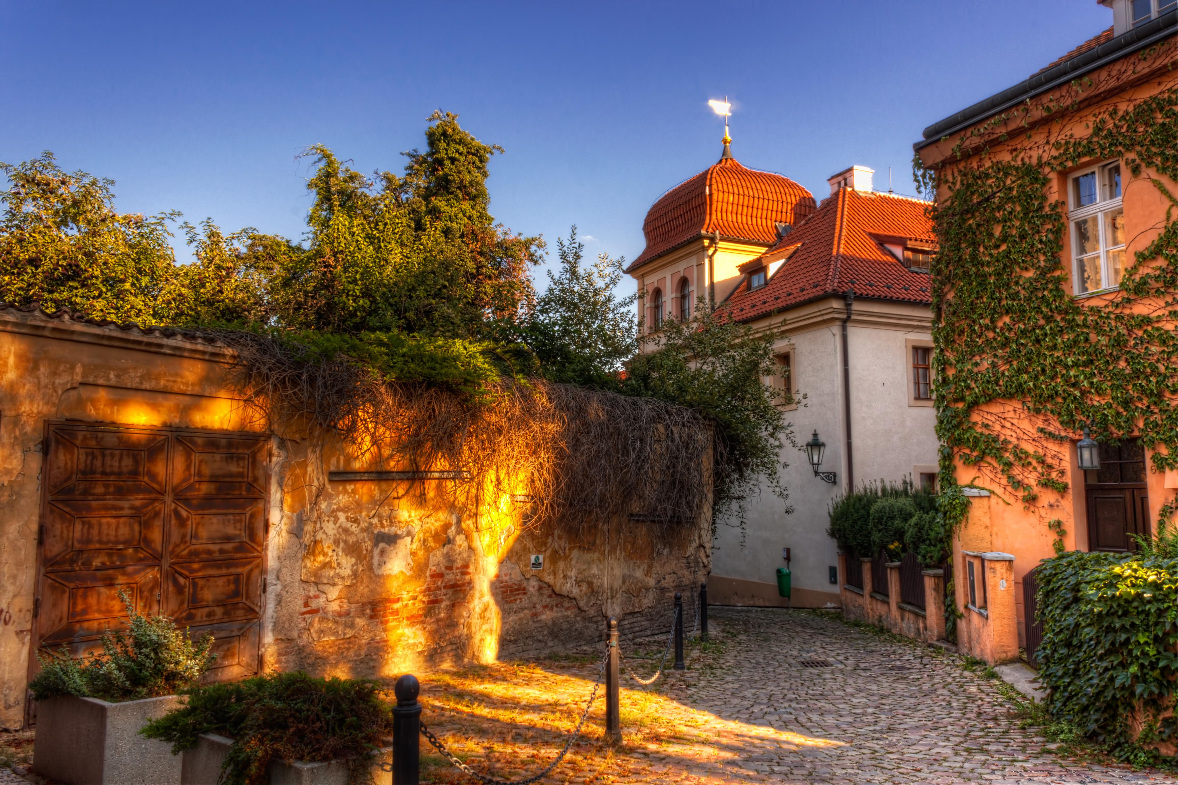 Golden Alley in Praag