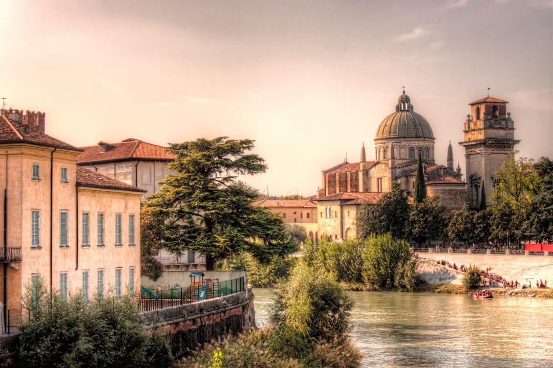 Verona, Italy during a sunny day