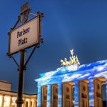 Brandenburg Gate with Clouds | Berlin, Germany