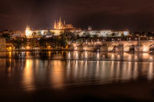 Prague Castle at Night | Czech Republic