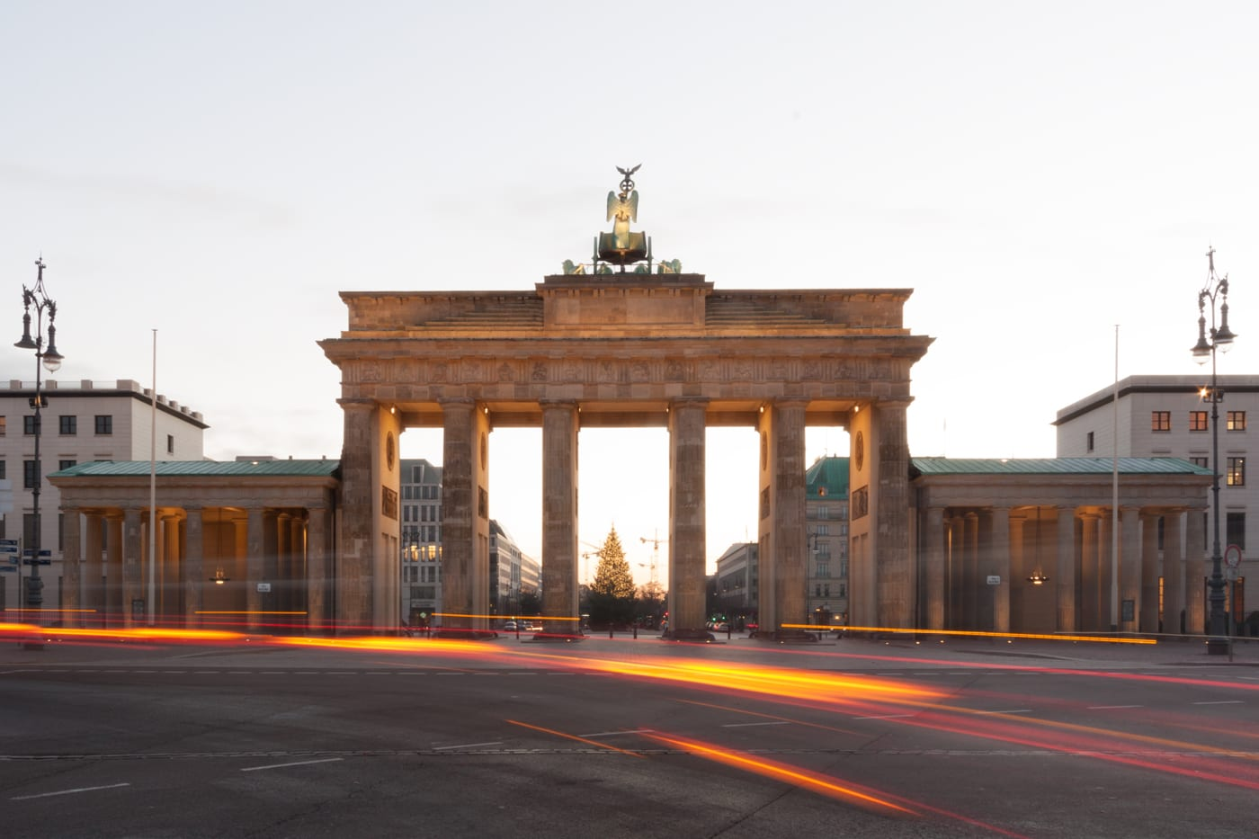 Before-Brandenburg Gate – West | Berlin, Germany