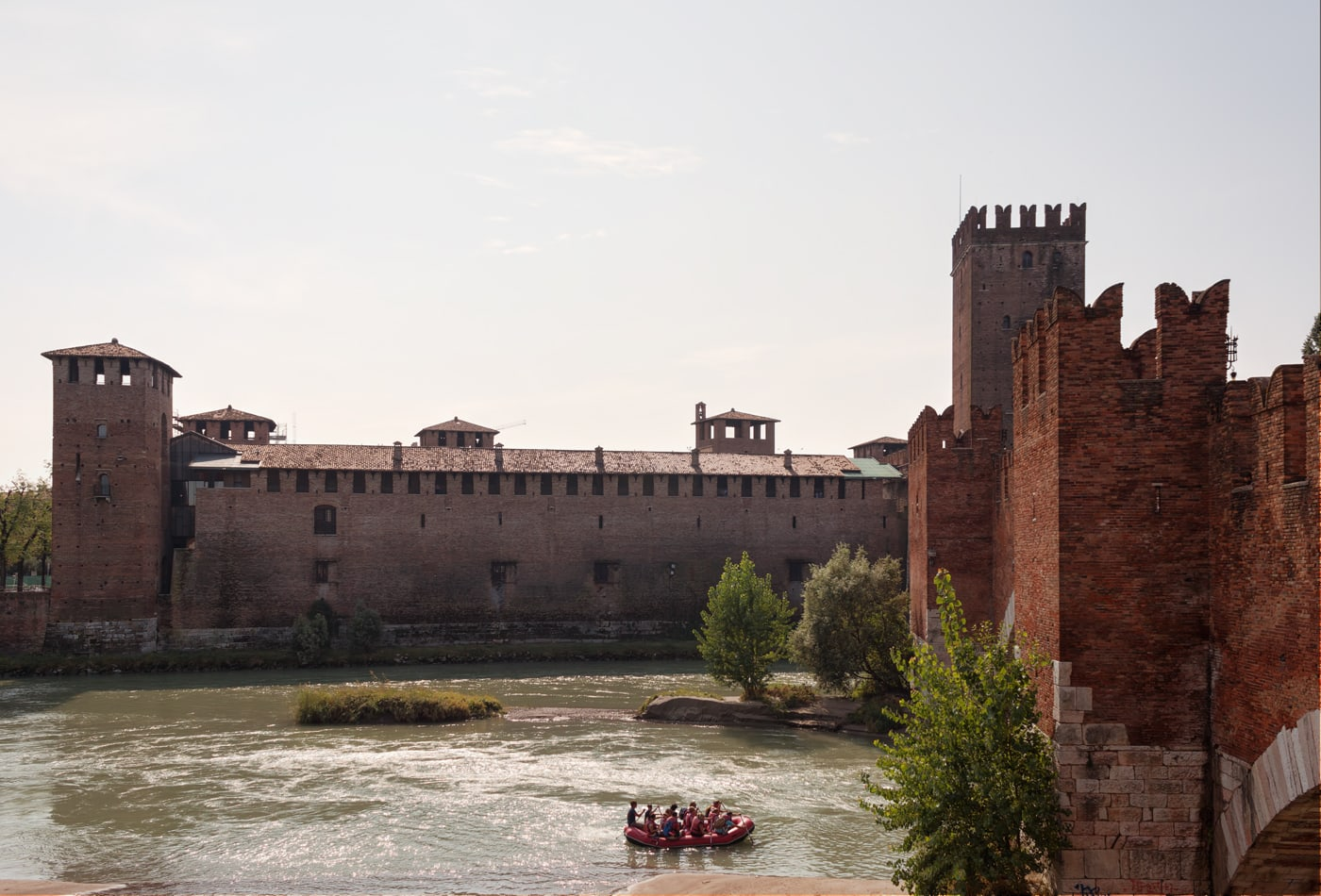 Before-Rafting on Adige | Verona, Italy