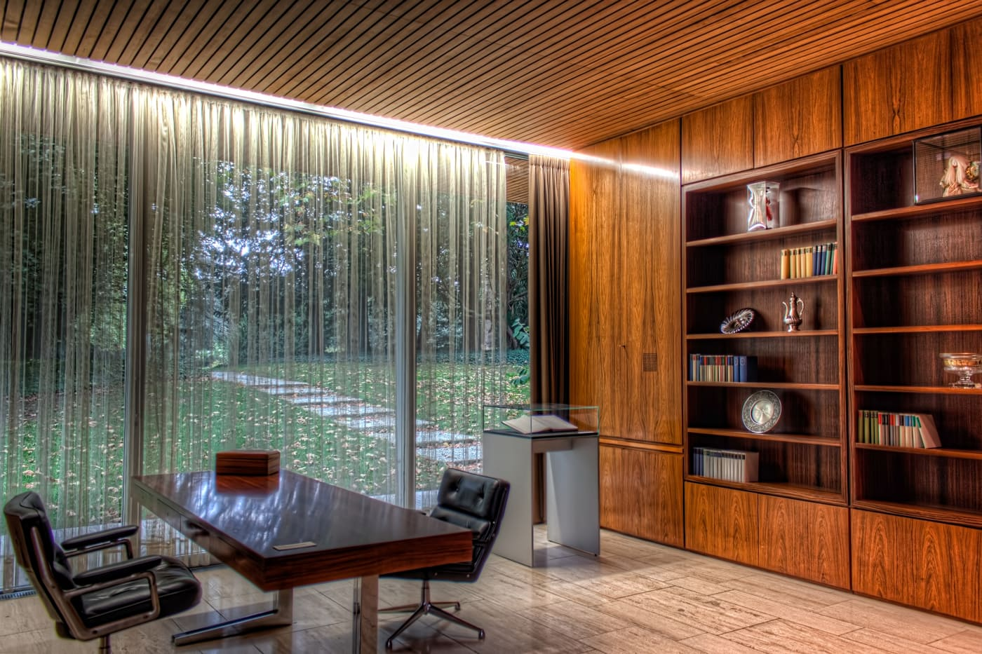 Office of the German Chancellor in the Bungalow in Bonn