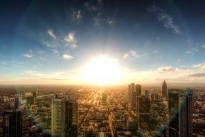 Frankfurtse skyline