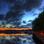 Lake Tegel at Night | Berlin, Germany