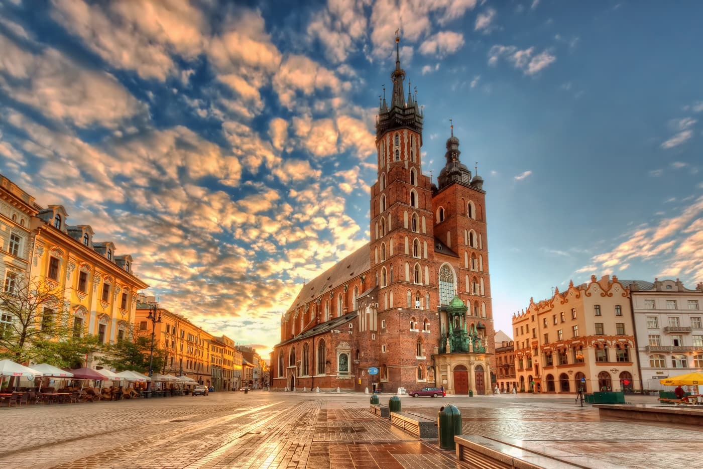 St Mary Basilica in Krakow, Poland