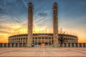 Olympisch stadion in Berlijn