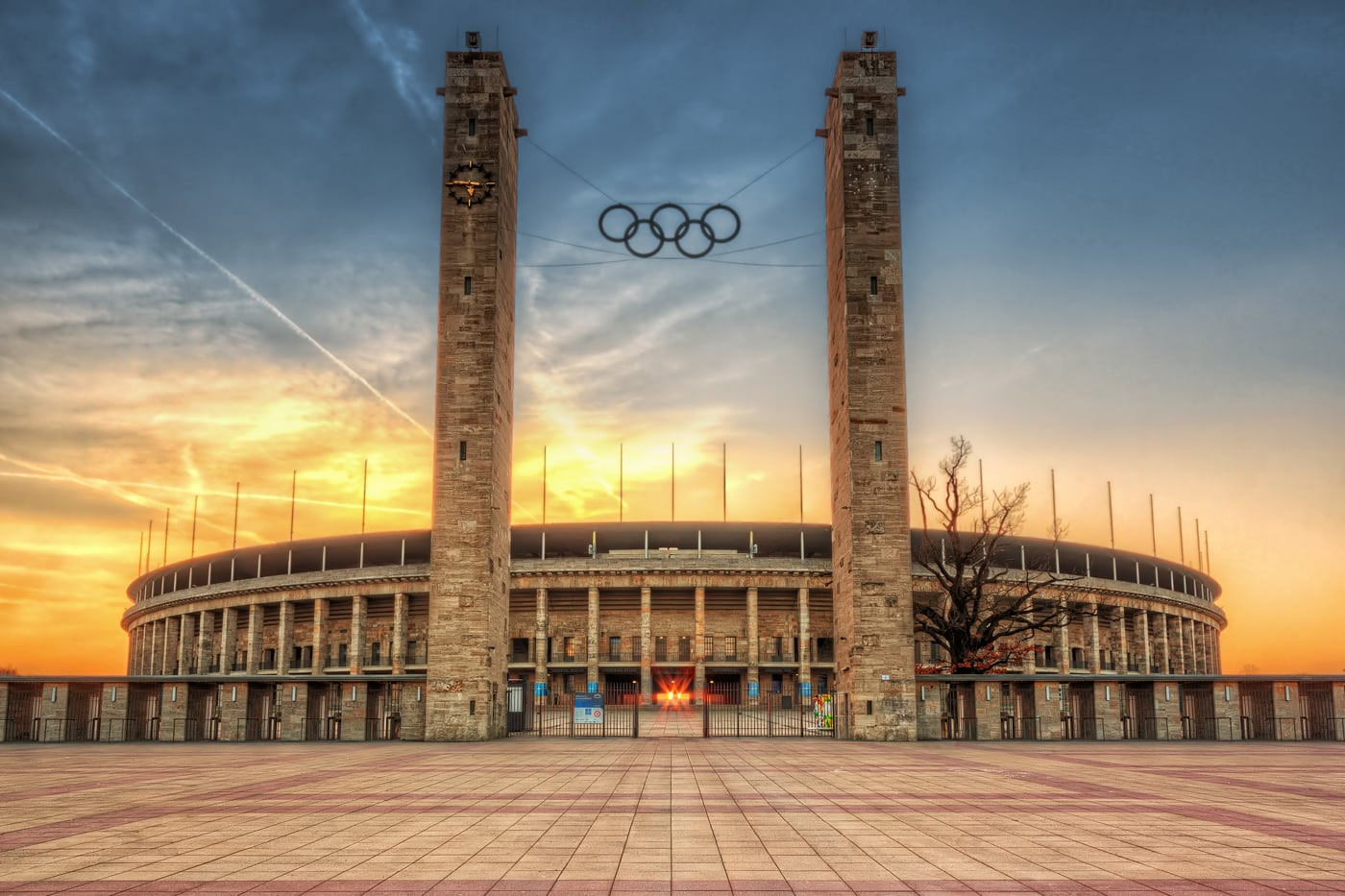Olympic Stadium in Berlin