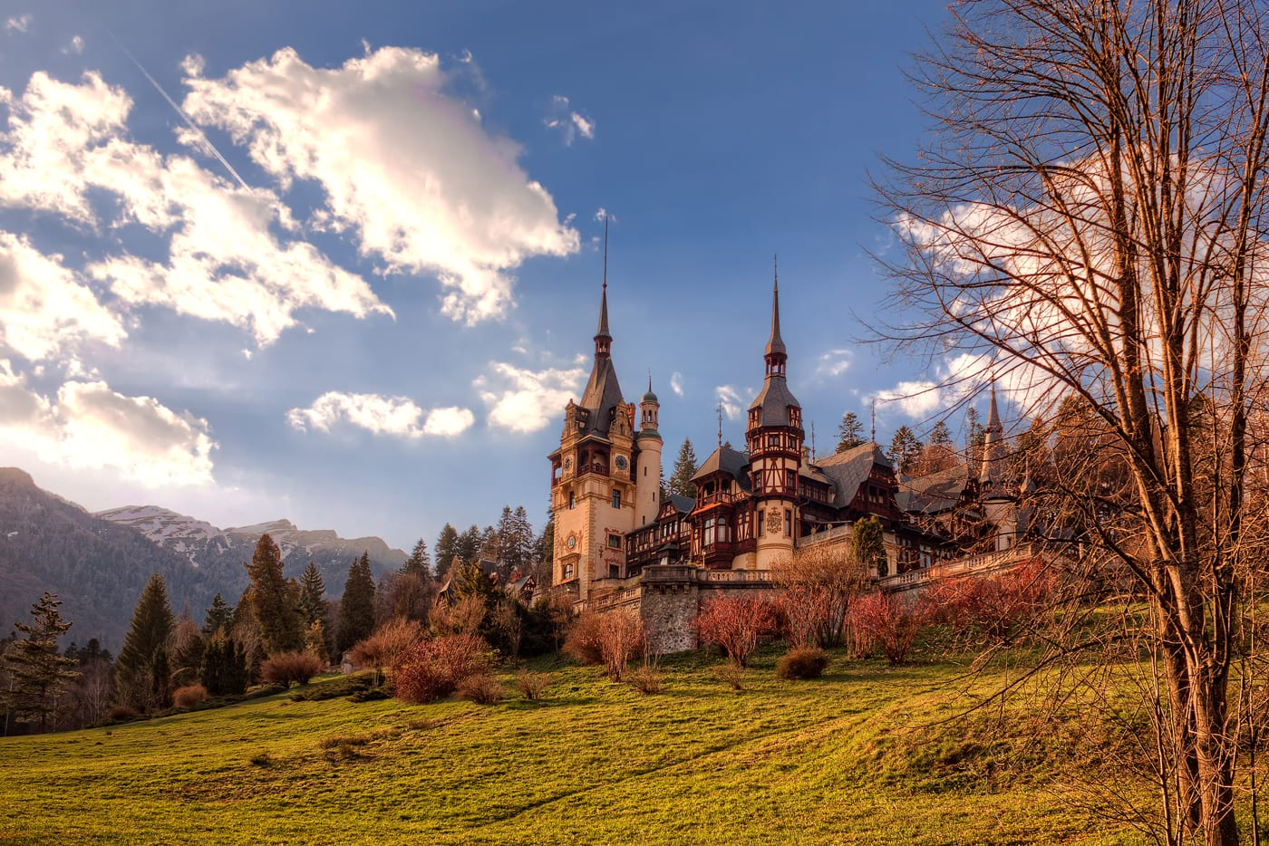 Peleș Castle in Sinaia