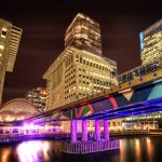 Canary Wharf at Night | London, England