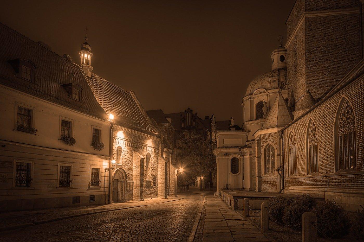 Cathedral Island Ostrów Tumski in Wrocław, Poland