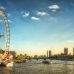 London Eye and Westminster | England