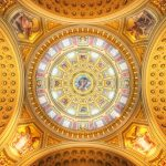 Cupola of the St. Stephen's Basilica | Budapest, Hungary