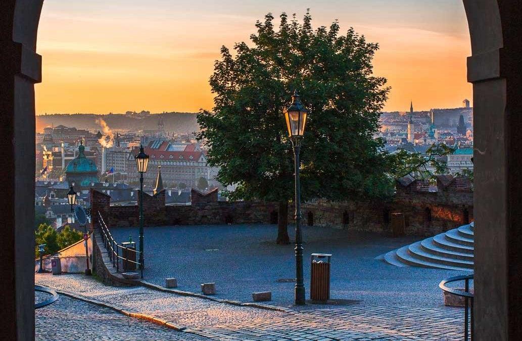 Prague Castle Gate   Czech Republic