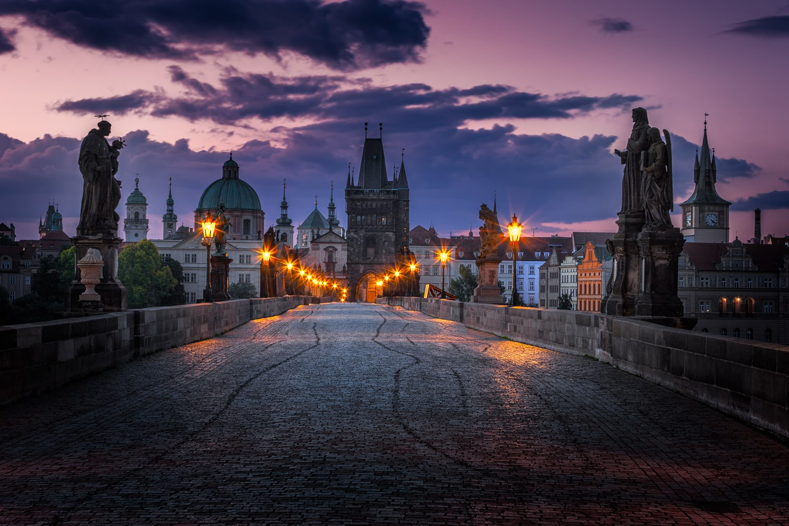 Charles Bridge Prague - Sumfinity Photography