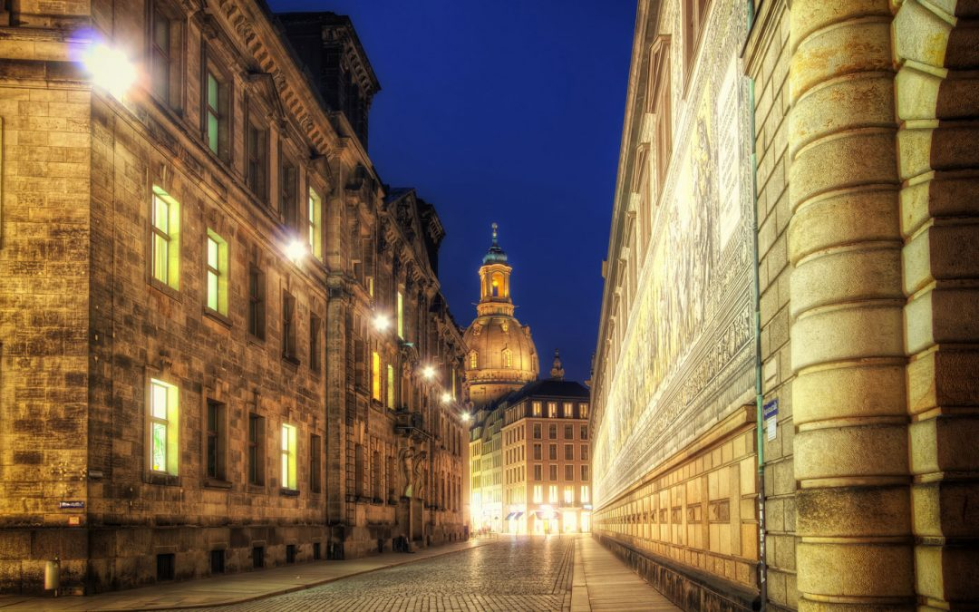 Through the Golden Alleys | Dresden, Germany