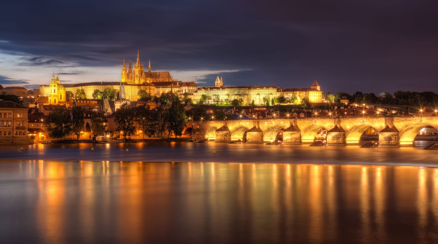 Prague Castle Charles Bridge - Sumfinity Photography