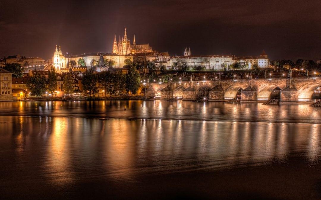 Prague Castle at Night | Czech Republic