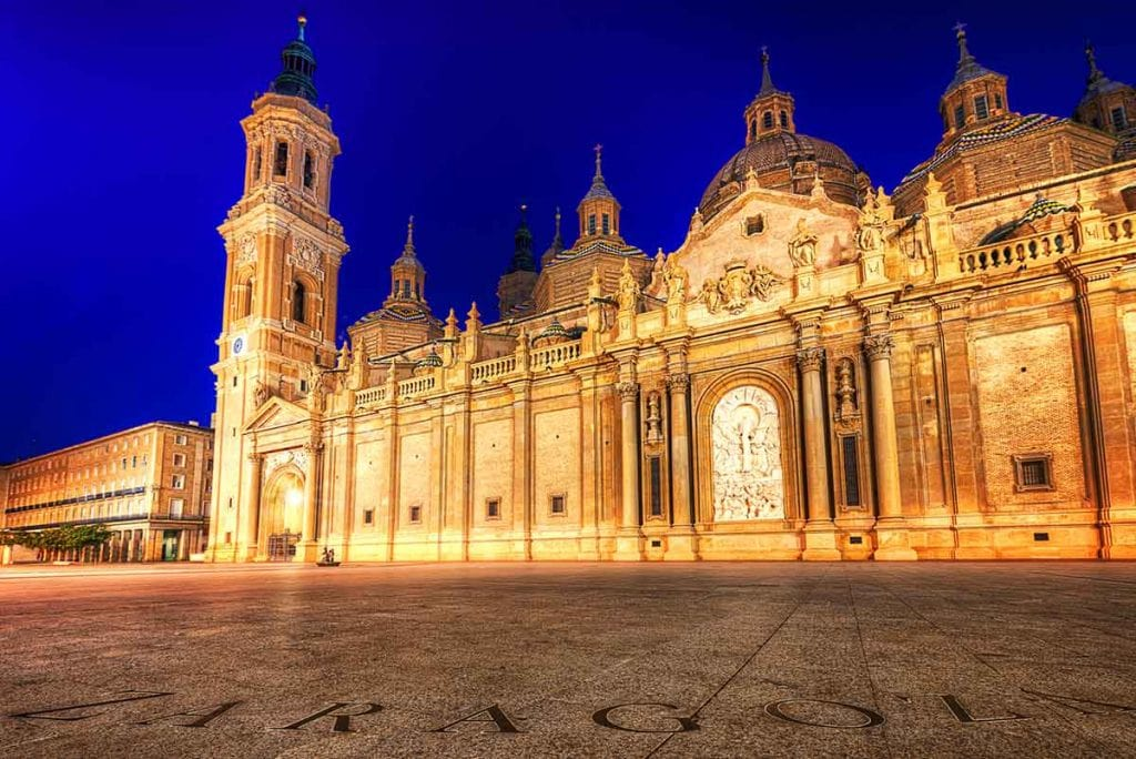 Basilica–Cathedral of Our Lady of the Pillar in Zaragoza
