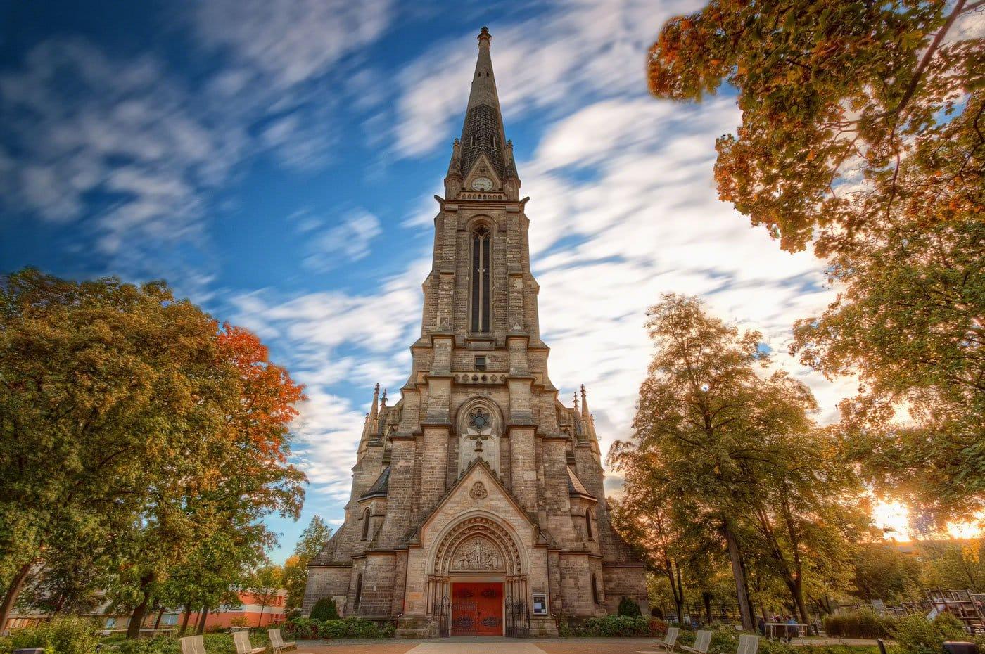 St. Sebastian Kirche im Berliner Stadtteil Gesundbrunnen