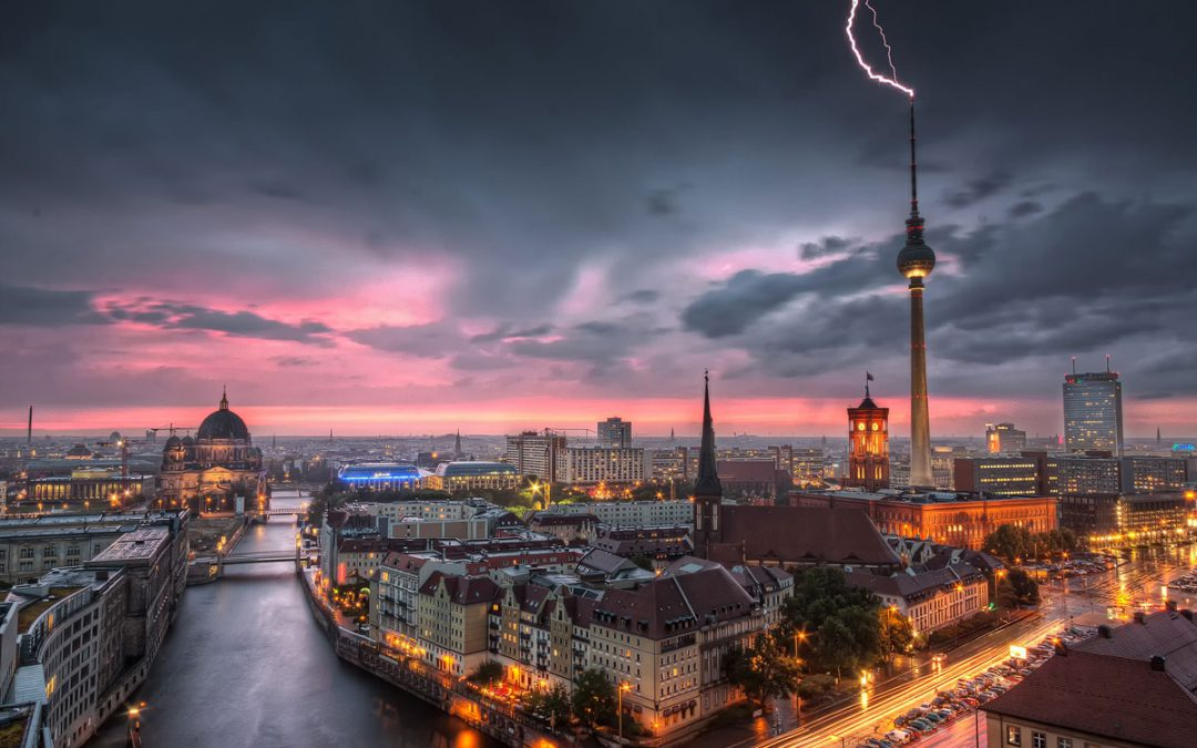 Thunderstorm at Alexanderplatz | Berlin, Germany