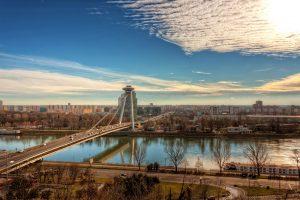 Bratislava Skyline | Slowakei
