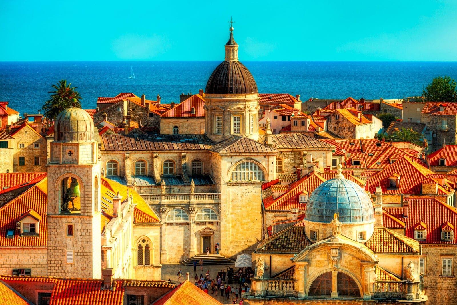 Dubrovnik's towers | Dubrovnik, Croatia