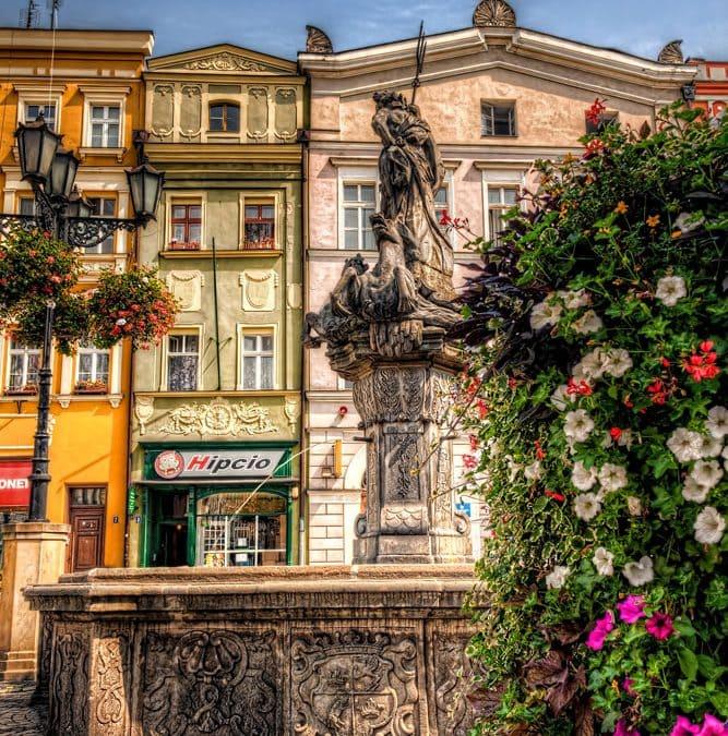 Fountain in Świdnica | Poland