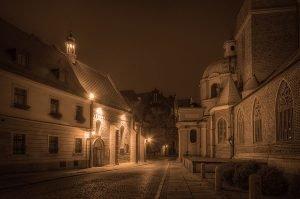 Dominsel in Breslau, Polen
