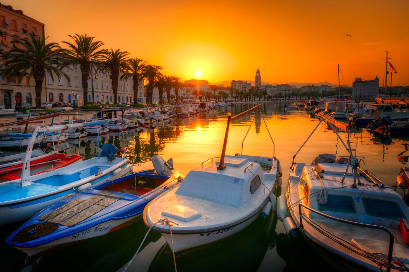 Harbour in the Morning | Split, Croatia