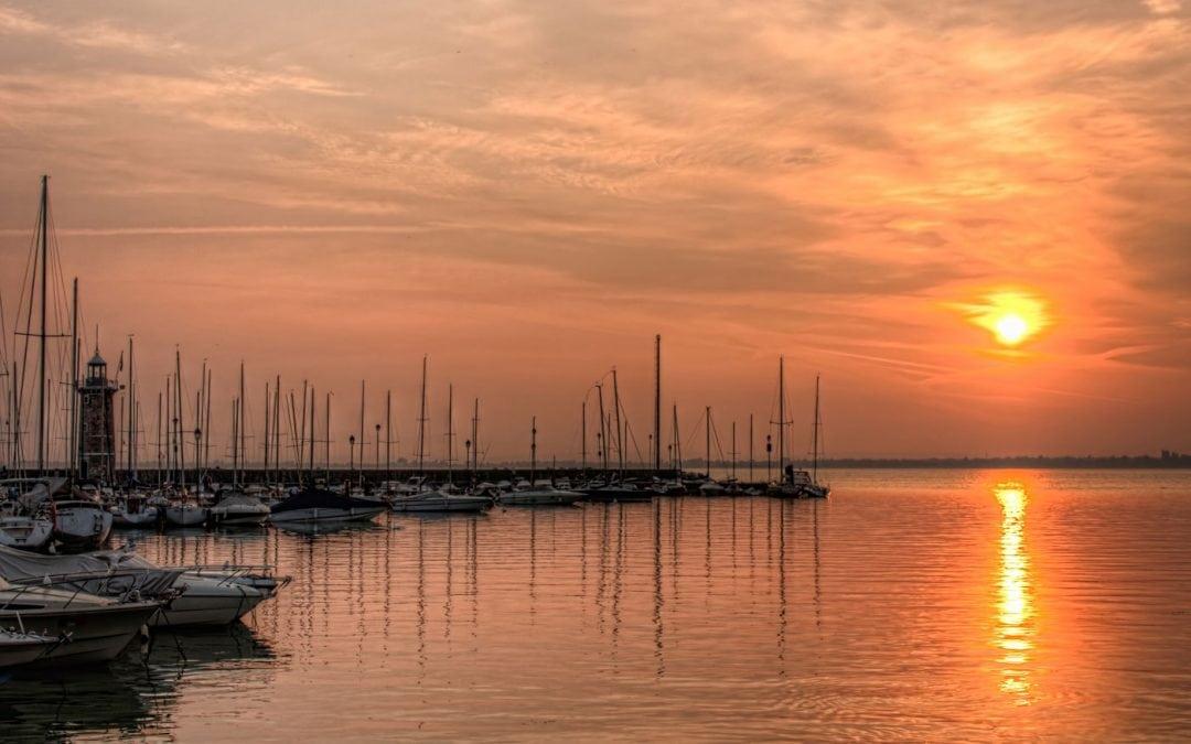 Sunrise in Desenzano del Garda | Italy