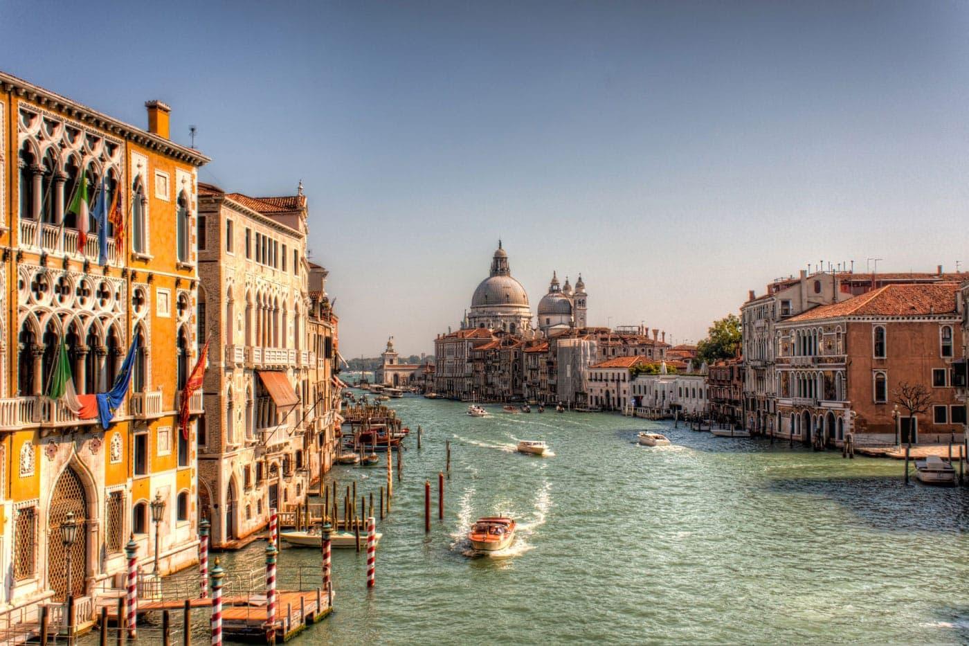 Canal Grande in Venedig - HDR Foto