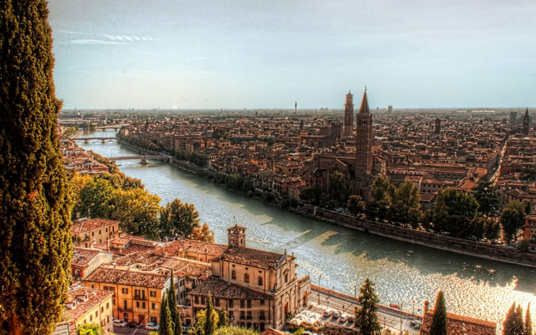 Verona from Castel San Pietro | Italy
