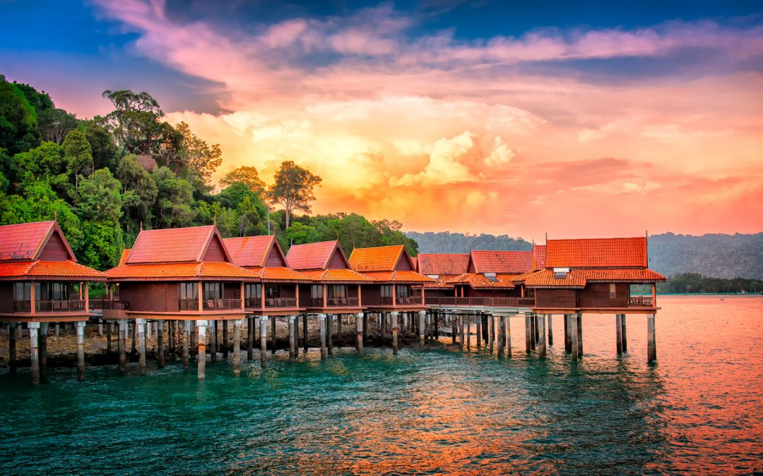 Chalets on Water | Langkawi Island, Malaysia