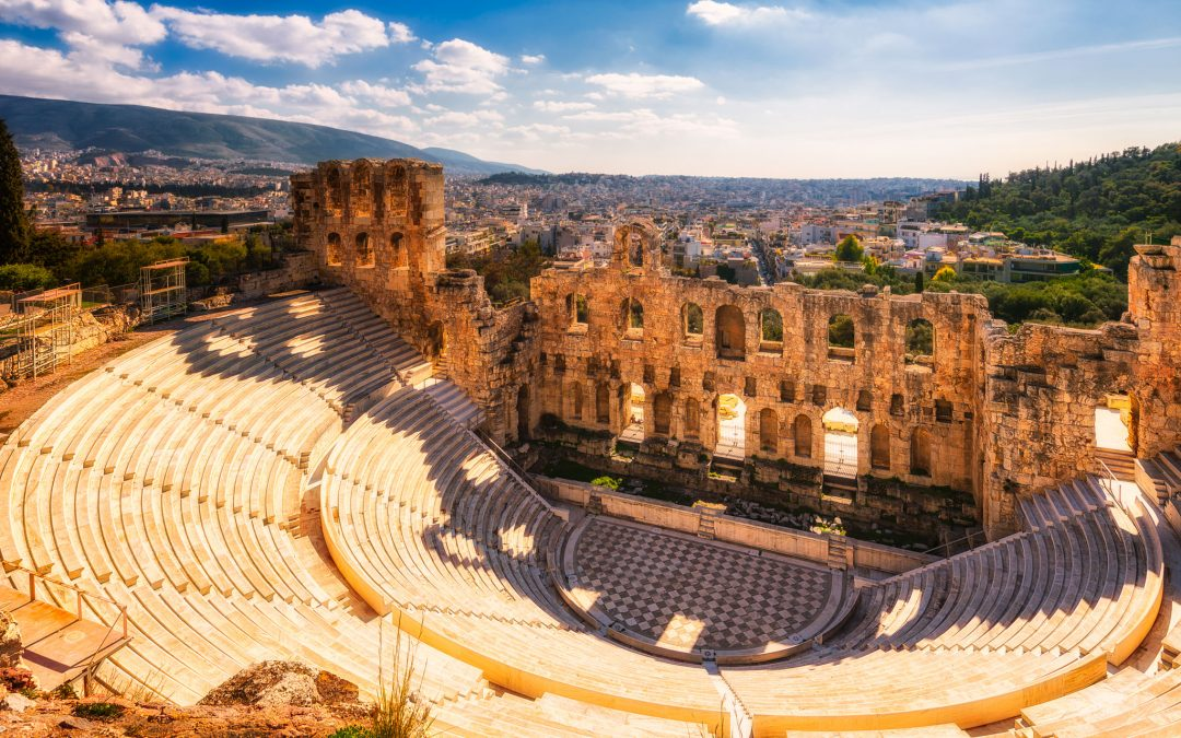 Ancient theatre – Odeon Of Herodes Atticus | Athens, Greece