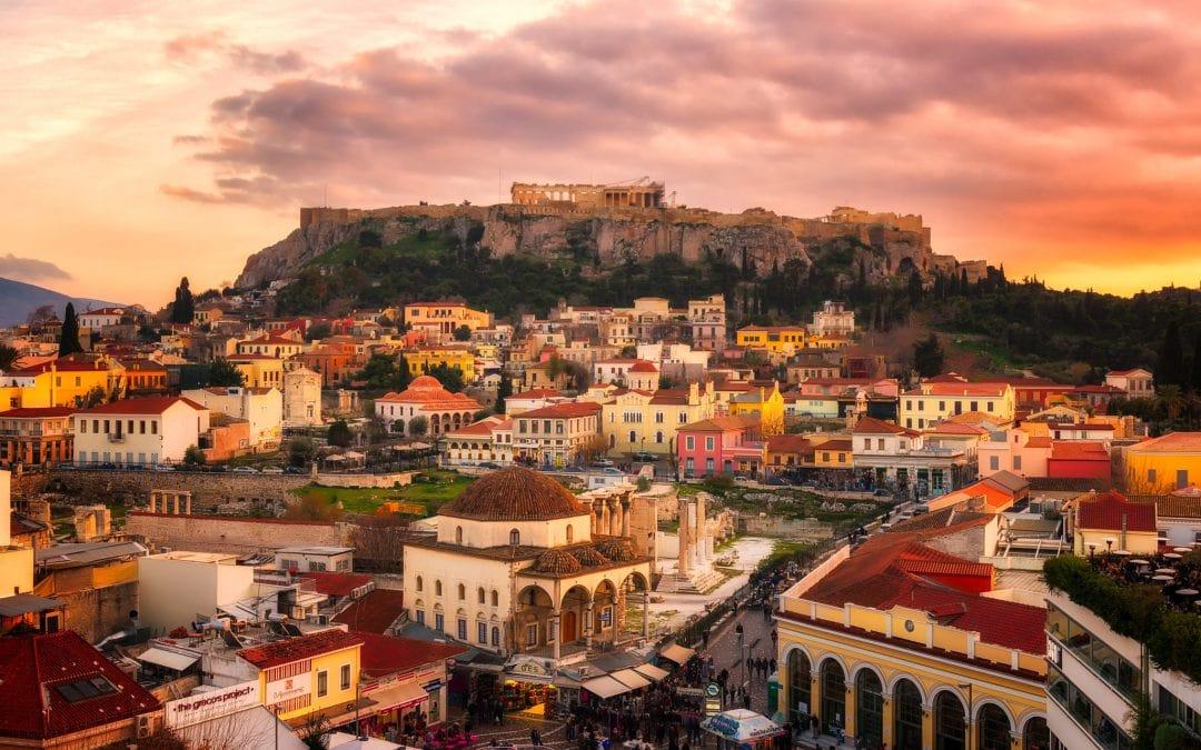 Ein Ausflug nach Athen