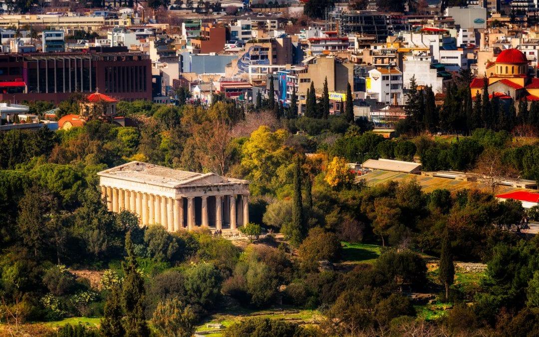 The Temple of Hephaestus | Athens, Greece