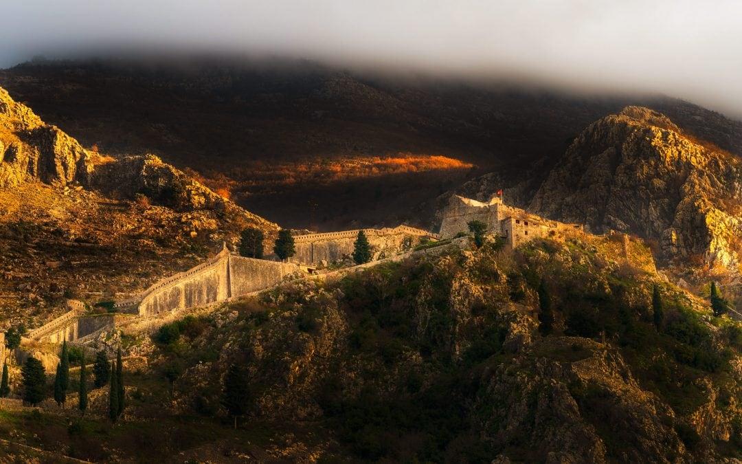 Kotor Castle in the clouds | Kotor, Montenegro