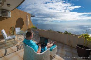 The photo of apartment in Radazul near Santa Cruz the Tenerife with view on Atlantic Ocean