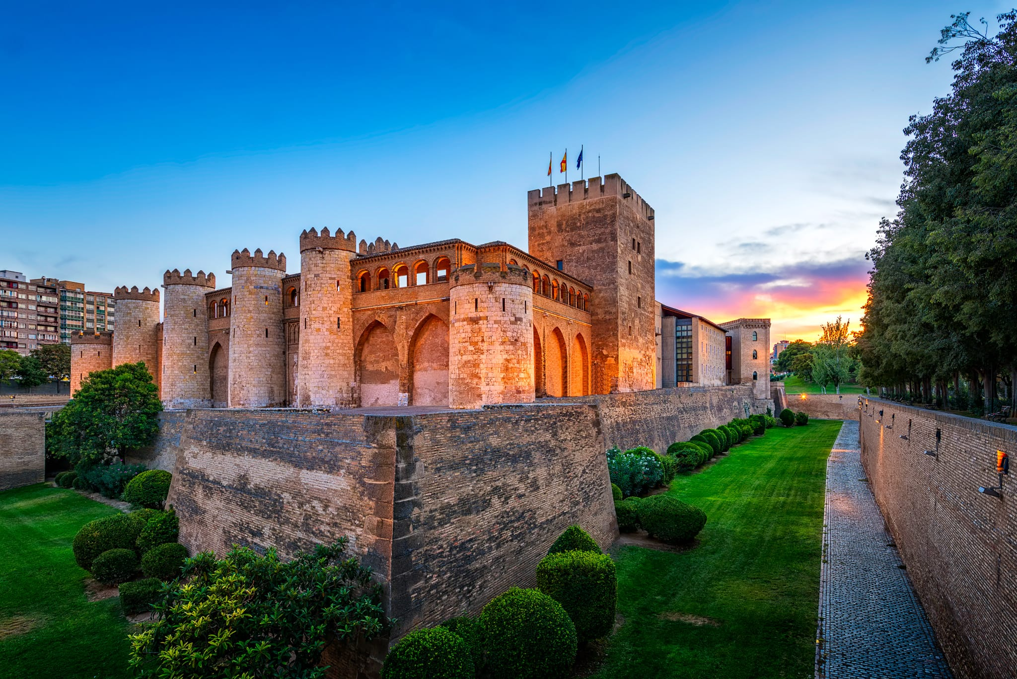 The Aljafería Palace in Zaragoza | Spain