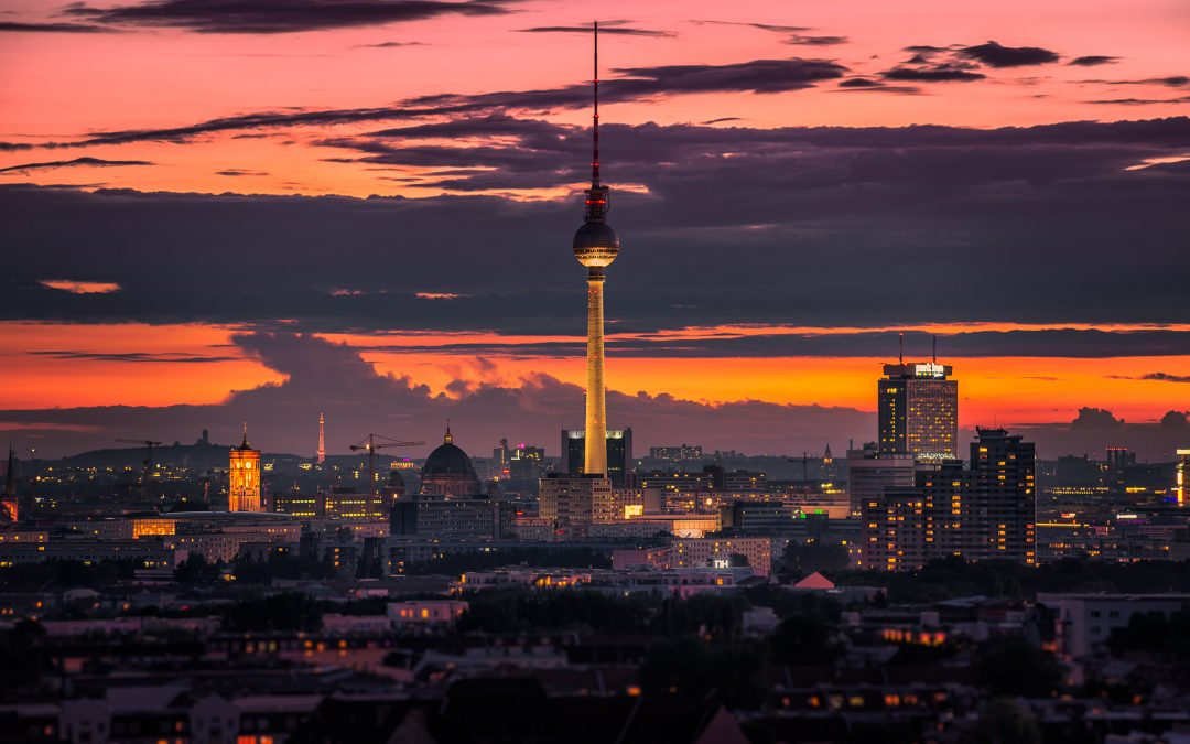 TV Tower seen from Storkower Straße: Tilt-Shift Photography | Berlin, Germany