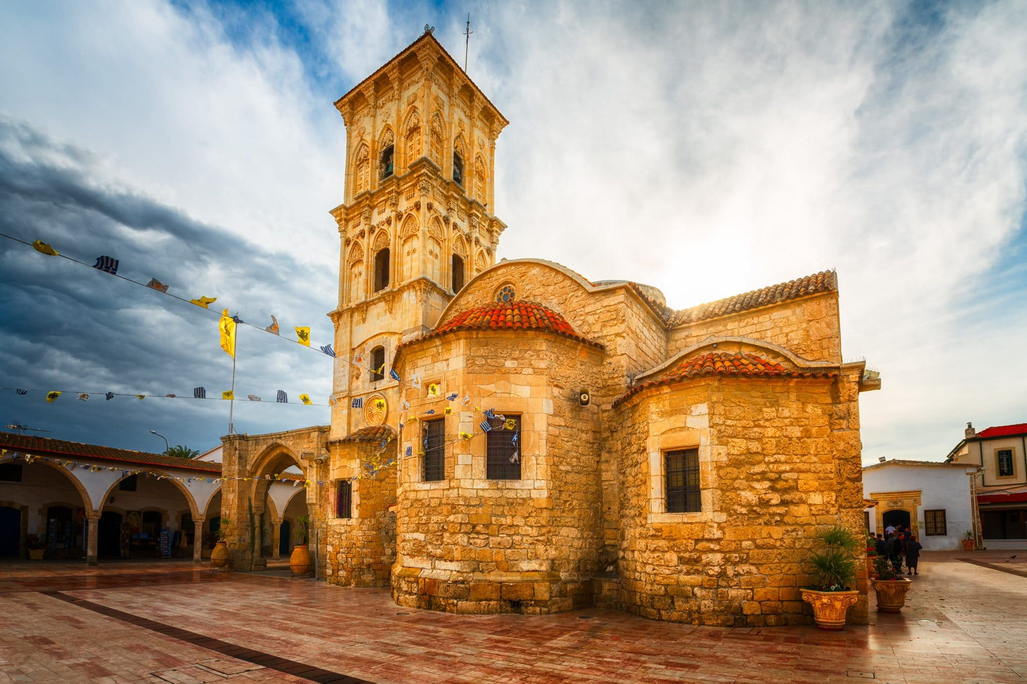 The Church of Saint Lazarus in Larnaca – A day photo, Cyprus.