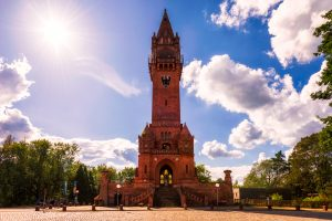 Grunewalderturm (Grunwald Tower) - a tourist attraction in Berlin, Germany.