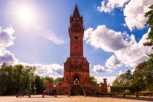 Grunewaldturm - eine Touristenattraktion in Berlin, Deutschland.