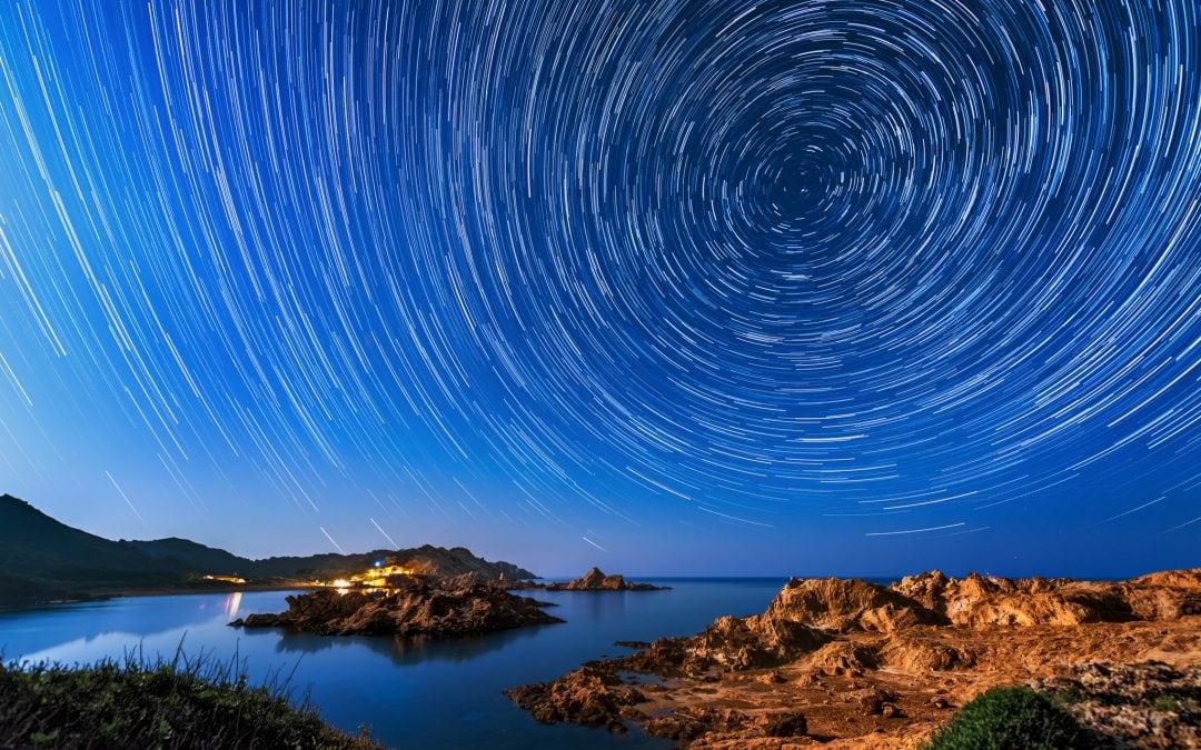 Star Trails   Menorca, Spain