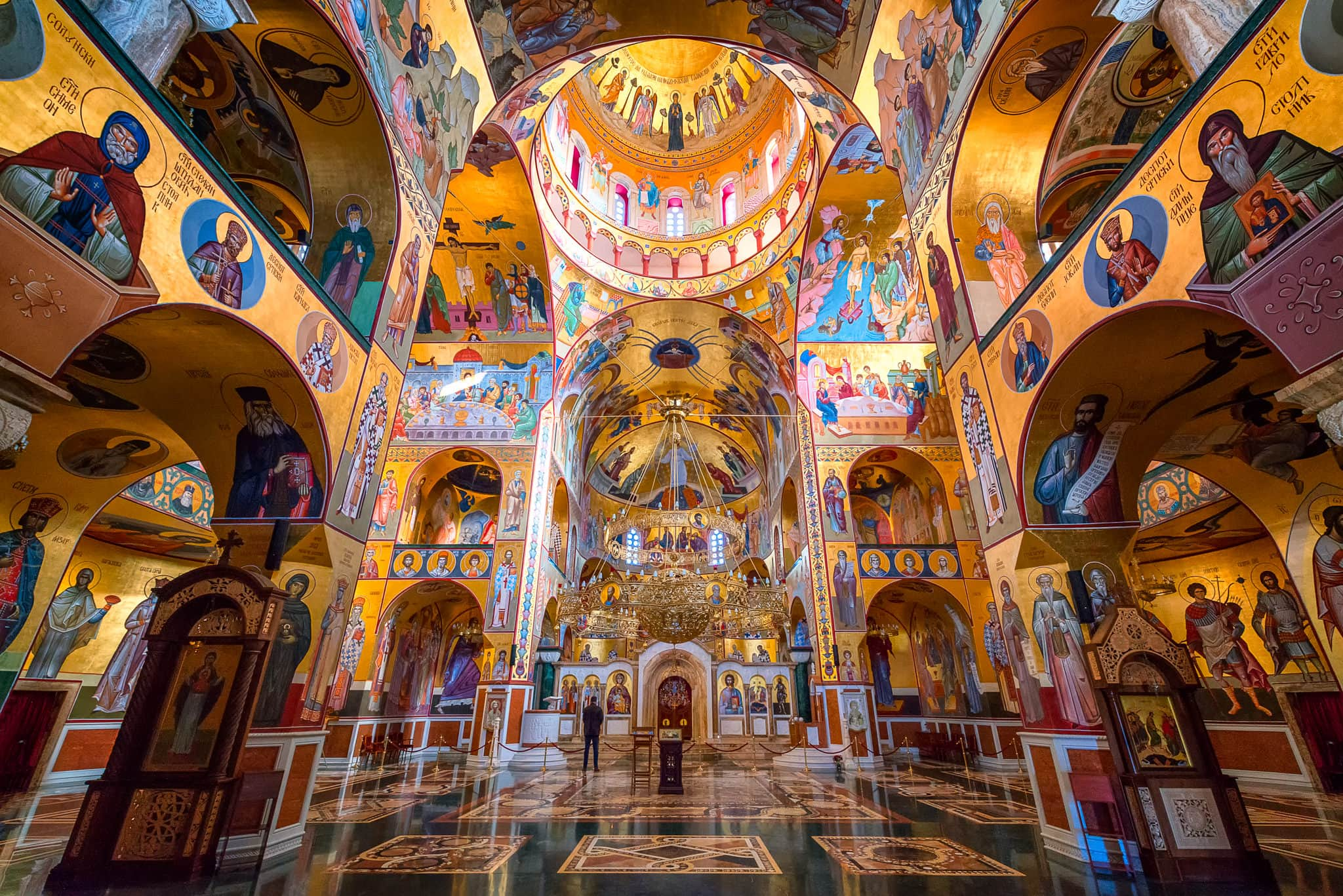 Interior Cathedral of the Resurrection of Christ | Podgorica, Montenegro