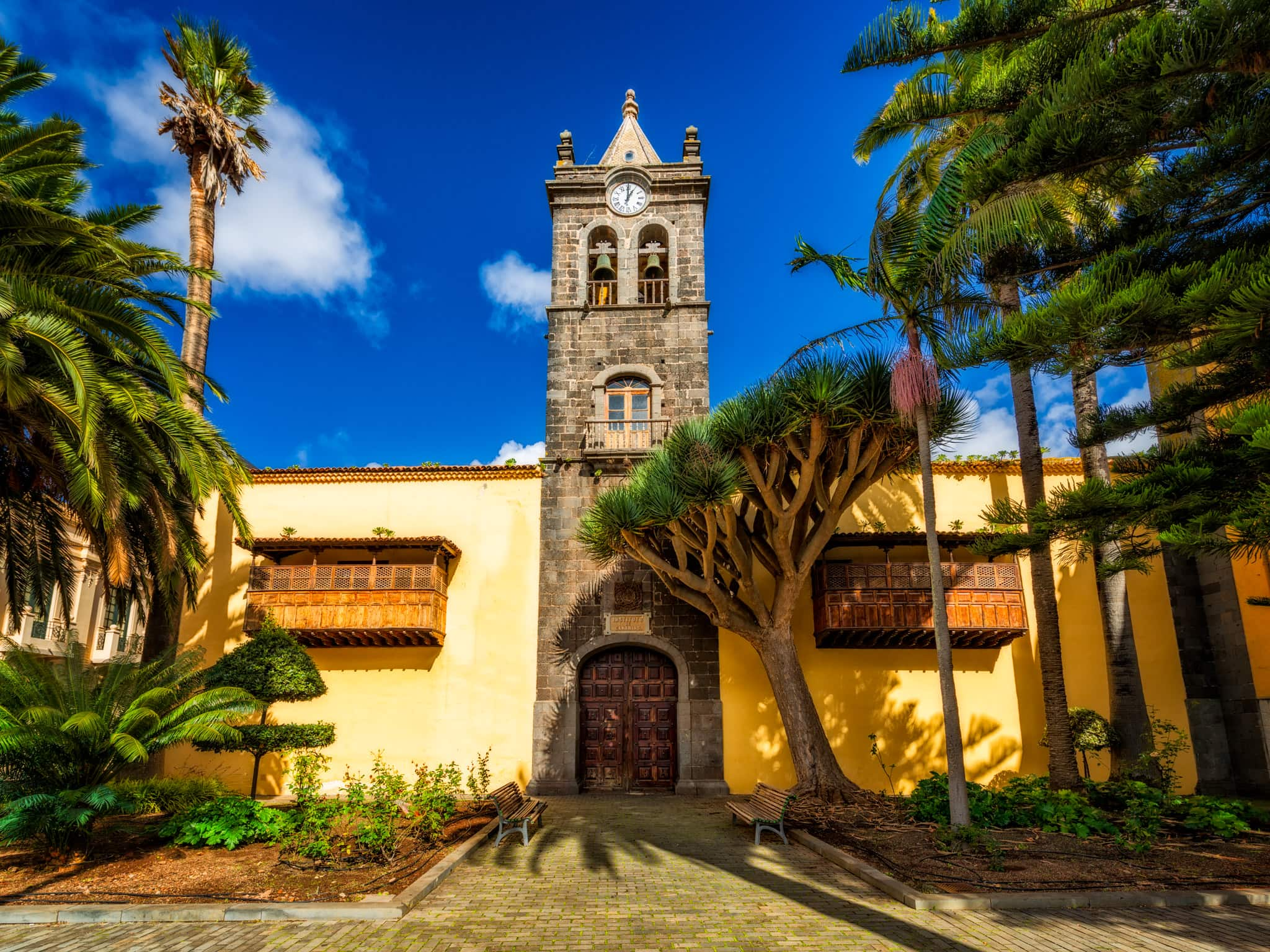 Canary Islands Instituto Cabrera Pinto (previously University), San Cristóbal de la Laguna, Tenerife, Spain.
