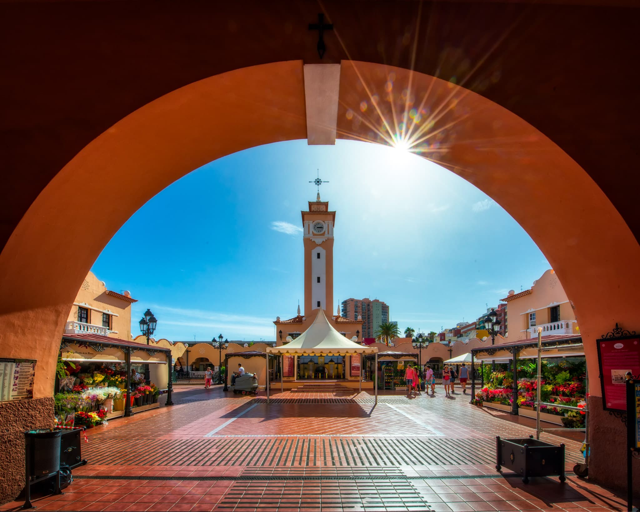 The Market of Our Lady of Africa in Santa Cruz de Tenerife (El Mercado de Nuestra Señora de África), Spain.