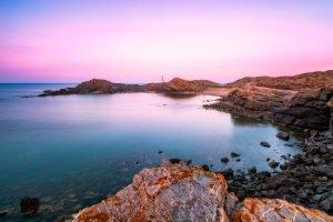 Menorca Cap de Favàritx Parc Natural de S'Albufera des Grau, Spanje.